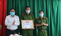 Thành đoàn TPHCM khen thưởng ĐVTN dũng cảm chữa cháy