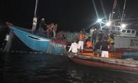 Tìm được 2 thi thể vụ lật ghe trên sông Thu Bồn 5 người mất tích