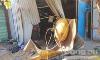 Nổ bình khí nén hơi dùng để vá vỏ xe, một người chết