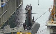 Tàu ngầm hạt nhân Pháp bốc cháy trong lúc đang nâng cấp