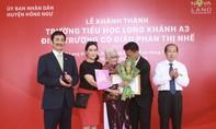 Đón chào trường tiểu học Long Khánh A3 mới