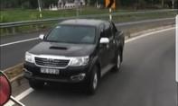 Ô tô liên tục chạy ngược chiều trên cao tốc Đà Nẵng- Quảng Ngãi