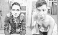 Bắt nóng 2 tên trộm xe chuyên nghiệp ở trung tâm Sài Gòn