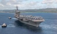Ba tàu sân bay Mỹ xuất hiện cùng lúc tại biển Philippines