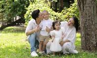 Quốc Nghiệp – Ngọc Mai lung linh trong bộ ảnh gia đình