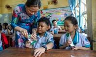 Vì sao các bé hào hứng với giờ uống sữa tại trường?