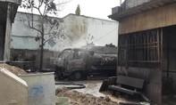 Cháy xe bồn tại cây xăng, tài xế tử vong, 2 người bỏng nặng