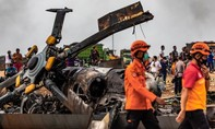 Trực thăng quân sự Indonesia rơi, 9 binh sĩ thương vong