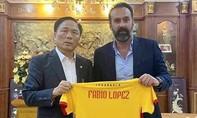 Đội bóng xứ Thanh chia tay HLV Fabio Lopez