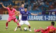Clip trận Sài Gòn FC hạ CLB Hà Nội