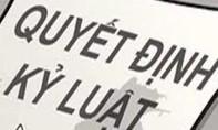 Kỷ luật đội trưởng QLTT vì quan hệ nam nữ bất chính