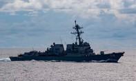 Mỹ điều tàu chiến đến Biển Đông bảo vệ tự do hàng hải
