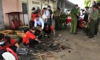 Công an TPHCM tiêu hủy hàng ngàn công cụ hỗ trợ, vũ khí thô sơ bị thu giữ