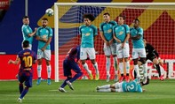 Clip trận Barca thua trong ngày Real lên ngôi vương La Liga