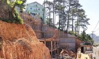 Đà Lạt: Thu hồi giấy phép doanh nghiệp xẻ đồi xây khách sạn Diamond Hill