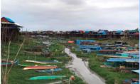 """Khu vực hồ Tonle Sap cạn trơ vì các đập thuỷ điện: Ngư dân """"kêu trời"""""""