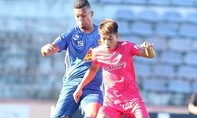 Clip trận Quảng Nam buộc Sài Gòn chia điểm với 6 bàn thắng