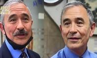 Đại sứ Mỹ tại Hàn Quốc cạo phăng bộ râu để đeo khẩu trang dễ hơn
