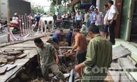 """TP.Biên Hoà: Hố tử thần """"khủng"""" xuất hiện sau cơn mưa"""