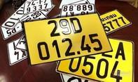 Từ 1/8: Thay biển số vàng chữ đen cho phương tiện kinh doanh vận tải