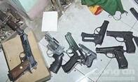 """Phá """"xưởng"""" chế tạo, lắp ráp súng """"khủng"""" ở Phú Yên"""