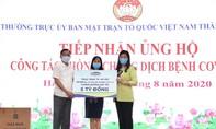 Vinamilk ủng hộ 8 tỷ đồng cho Hà Nội và 3 tỉnh miền Trung
