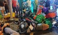 Nữ tài xế lái ôtô tông hàng loạt xe máy ở Sài Gòn khai đạp nhầm chân ga
