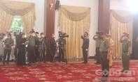 Đoàn Công an TPHCM viếng nguyên Tổng Bí thư Lê Khả Phiêu
