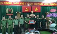 Công an huyện Bình Chánh phối hợp lực lượng quân sự giữ gìn ANTT