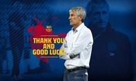 HLV Setien bị Barca sa thải sau trận thảm bại 2-8