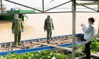 6 tấn heo lậu từ Campuchia về Việt Nam bằng đường sông