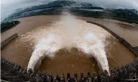 Mực nước ở đập Tam Hiệp dâng gần đến mức tối đa