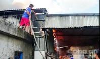 Cháy nhà kho chứa mắm cá linh, thiệt hại 500 triệu đồng