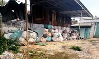 Gia Lai: Cơ sở tái chế nhựa gây ô nhiễm hoạt động trở lại