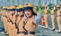 Loạt ảnh lễ ra mắt Đội hình nữ CSGT dẫn đoàn tại TPHCM