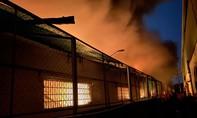 Cháy lớn tại KCN Tân Tạo ở TPHCM