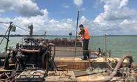 TPHCM: Phát hiện 2 tàu chở 1.000 m2 cát không rõ nguồn gốc