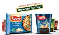 Gói nấm bào ngư trong mì Reeva hoàn toàn là nguyên liệu tươi