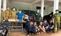 Bắt 5 người nước ngoài vận chuyển 60.000 viên ma túy quá biên giới
