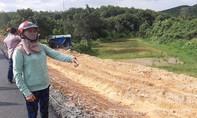 Thi công đường hơn 1.000 tỷ đồng làm nứt nhà dân, nước ngập ruộng vườn
