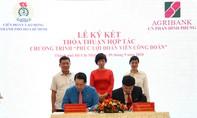 Agribank Phan Đình Phùng ký kết hợp tác với LĐLĐ TPHCM