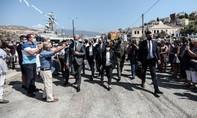 """Thổ Nhĩ Kỳ """"nổi đoá"""" sau khi tổng thống Hy Lạp đi thăm đảo ở Địa Trung Hải"""