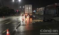 Nam công nhân bị container cán tử vong thương tâm khi vừa tan ca