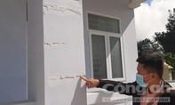 Trạm Y tế ở xã nghèo mới hoàn thành đã nứt dọc ngang