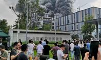 Cháy lớn tại trung tâm nghiên cứu và phát triển của Huawei