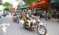 TPHCM: Công an các quận, huyện đồng loạt ra quân trấn áp tội phạm