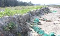Quảng Nam: Bờ biển xã Duy Hải sạt lở sau cơn bão số 5