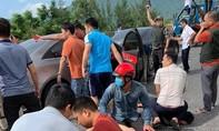 """Nổ súng bắt nhóm người vận chuyển gần 30 ma túy, """"tử thủ"""" trên ôtô"""