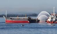 Nổ tàu chở dầu, 1 thuyền viên tử vong