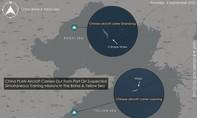 Hai tàu sân bay Trung Quốc lần đầu tập trận cùng nhau trên biển